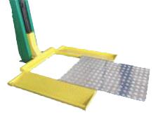 Removable Aluminum Platform