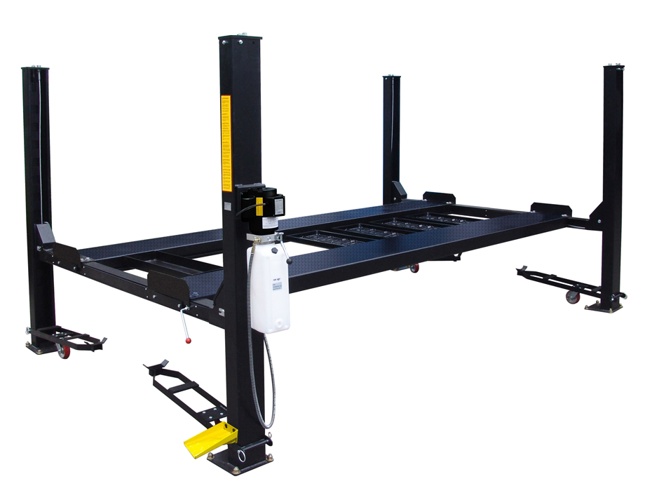 Four Post Vehicle Lift : Auto lift car park lb capacity four post